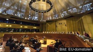 EU-domstolen brukar i fyra fall av fem gå på generaladvokatens yttranden. Arkivbild.