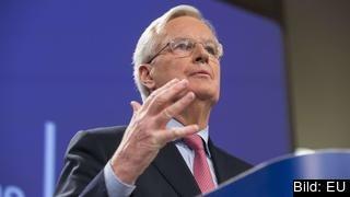 Förslaget från EU:s brexitförhandlare kan leda till ny gräns mellan Nordirland och övriga Storbritannien.