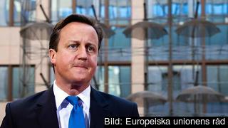 Den brittiske premiärministern David Cameron söker allierade i EU för att begränsa rörligheten för rumäner och bulgarer. Arkivbild.