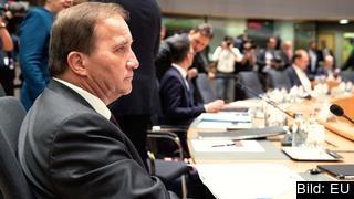 Statsminister Stefan Löfven (S) vill inte att EU ska slå in på en mer protektionistisk bana vid toppmötet i veckan.