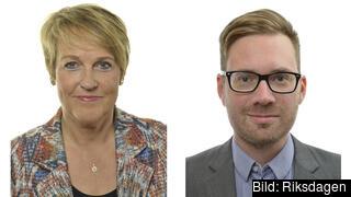 Désirée Pethrus (KD) och Hampus Hagman (KD) efterlyser en samhällsdebatt om hur EU:s återhämtningsfond ska användas i Sverige.