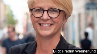 Moderaternas arbetsmarknadspolitiske talesperson Elisabeth Svantesson avvisar regeringens förslag att Sverige ska ansluta sig till den sociala pelaren. Arkivbild.