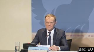 Europeiska rådets ordförande Donald Tusk presenterade riktlinjerna under ett besök i Luxemburg.