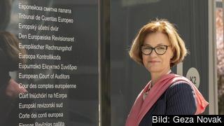 Eva Lindström är Sveriges ledamot av EU:s revisionsrätt. Arkivbild.