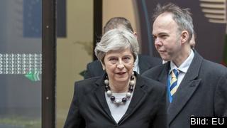 Storbritanniens konservativa premiärminister Theresa May. Arkivbild.