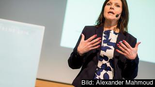 Eva Nordmark, ordförande i  TCO, vill delar av EU:s budget ska användas till vidareutbildning och omställning på arbetsmarknaden i EU. Arkivbild.