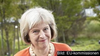 Storbritanniens nästa premiärminister Theresa May. Arkivbild.