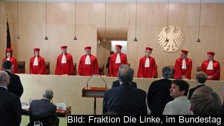 Författningsdomstolen i tyska Karlsruhe hade tidigare tillfrågat EU-domstolen råd i frågan. Arkivbild.