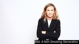 Helen Stjerna, generalsekreterare A Non Smoking Generation.
