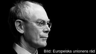Europeiska rådets ordförande Herman Van Rompuy leder veckans EU-toppmöte. Arkivbild.