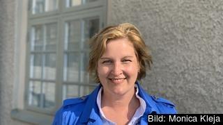 Karin Karlsbro (L) hoppas bli invald i EU-parlamentet.