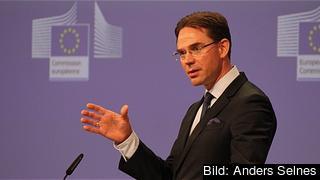 EU:s tillväxtkommissionär Jyrki Katainen. Arkivbild.