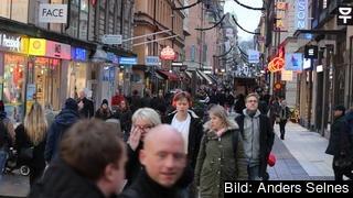 Stödet för Sveriges EU-medlemskap är rekordstort, visar SCB:s nya undersökning. Stockholm 7 december.