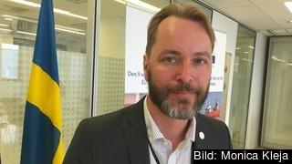 Jonas Eriksson, MP, är ordförande i riksdagens EU-nämnd.