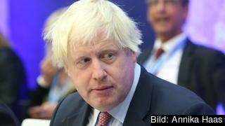 Tory-medlemmen Boris Johnson talade sig i dag än en gång varm för att Storbritannien ska lämna EU.