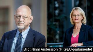 EU-minister Hans Dahlgren (S) och Europaparlamentariker Heléne Fritzon (S).