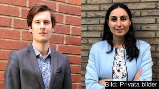Carl-Vincent Reimers och Caroline Rhawi, Liberala ungdomsförbundet, vill att Sverige bidrar med mer pengar till EU-budget för att möta den överhängande migrationskrisen och fylla hålet efter brexit.