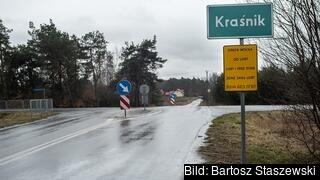 """Kraśnik i östra Polen är en av de kommuner som infört vad man kallar """"hbtq-fria zoner"""". Arkivbild."""