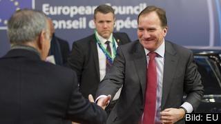 Statsminister Stefan Löfven (S) träffar sina europeiska kollegor på toppmöte i Bryssel torsdag och fredag.