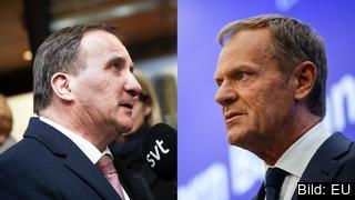 Dålig diplomati. Stefan Löfven (S) kritiserar Europeiska rådets ordförande Donald Tusk för tufft tweet riktat mot Donald Trump.