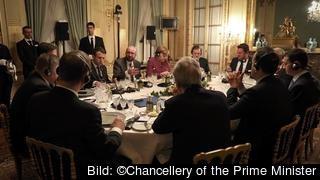 Sverige var inte bjuden när tunga EU-ledare pratade ihop sig inför toppmöte i Bryssel.