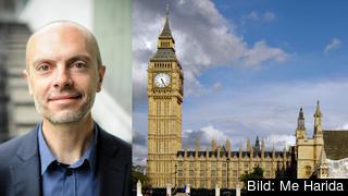– Det råder en otroligt komplex situation i brittisk politik, konstaterar Nicholas Aylott, docent i statsvetenskap vid Södertörns högskola i Stockholm.