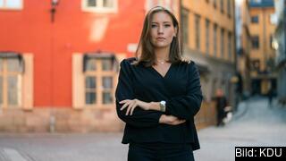 Nike Örbrink, förbundsordförande Kristdemokratiska Ungdomsförbundet vill att EU tar bort sitt förbud mot snus utanför Sverige för att lyckas i kampen mot cancer.