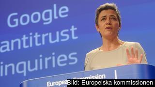 EU:s konkurrenskommissionär Margrethe Vestager.