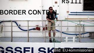 Frontex är den EU-byrå som samordnar gräns- och kustbevakningen i Schengenländerna men anses av vissa vara för tandlös. Arkivbild.
