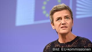 EU:s konkurrenskommissionär Margrethe Vestager delade på tisdagen ut de högsta böterna i EU:s historia.