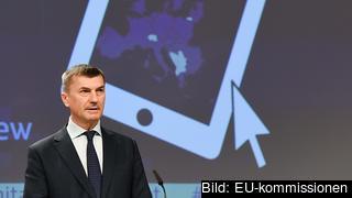 EU-kommissionär Andrus Ansip med ansvar för digitala inre marknaden.