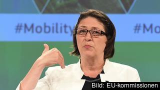 EU:s transportkommissionär Violeta Bulc.