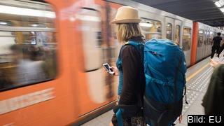 Hittills har 50 000 ungdomar fått ett gratis tågluffkort genom EU-programmet. Arkivbild.