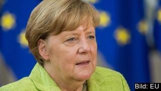 Det tog den tyska förbundskanslern Angela Merkel 250 dagar att svara på den franske presidenten Emmanuel Macrons plan för EU. Arkivbild.