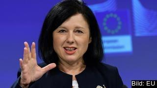 EU:s jämställdhetskommissionär Věra Jourová.