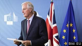 EU:s brexitförhandlare, den konservative fransmannen Michel Barnier. Arkivbild.