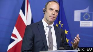 EU-minister Dominic Raab är en av flera brittiska ministrar avgått under torsdagen.