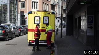 En belgisk ambulans. Arkivbild.