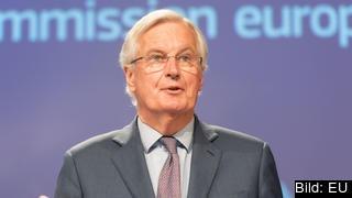 EU:s chefsförhandlare Michel Barnier. Arkivbild.