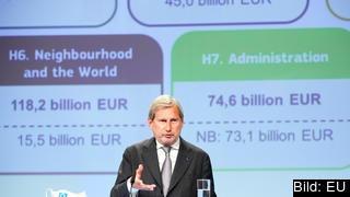 EU:s budgetkommissionär Johannes Hahn. Arkivbild.