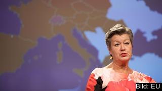 EU:s inrikeskommissionär Ylva Johansson.