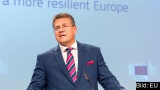 EU-kommissionär Maroš Šefčovič med ansvar för bland annat strategisk framsynthet.