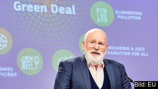 EU:s kimatkommissionär, den nederländske socialdemokraten Frans Timmermans.