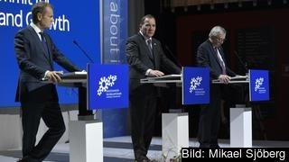 Stefan Löfven säger att schysta arbetsvillkor nu lyfts upp i topp på EU:s agenda.