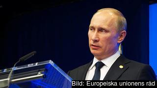 Den ryske presidenten Vladimir Putin har pressat flera länder att inte närma sig EU. Arkivbild
