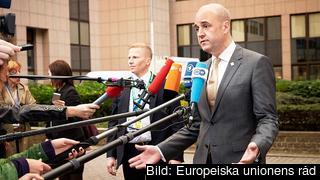 Statsminister Fredrik Reinfeldt . Arkivbild.