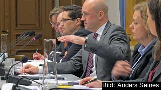 Statsminister Fredrik Reinfeldt menar att ett lärlingssystem likt det i Österrike kan vara en modell för Sverige. Arkivbild.