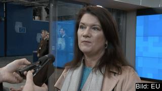 Ann Linde diskuterade idag brexit med de övriga medlemsländerna i EU.