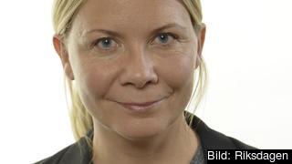 Riksdagsledamot Sofia Damm (KD).