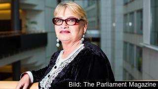 Europaparlamentariker Soraya Post varnar för den växande nationalismen i Europa.